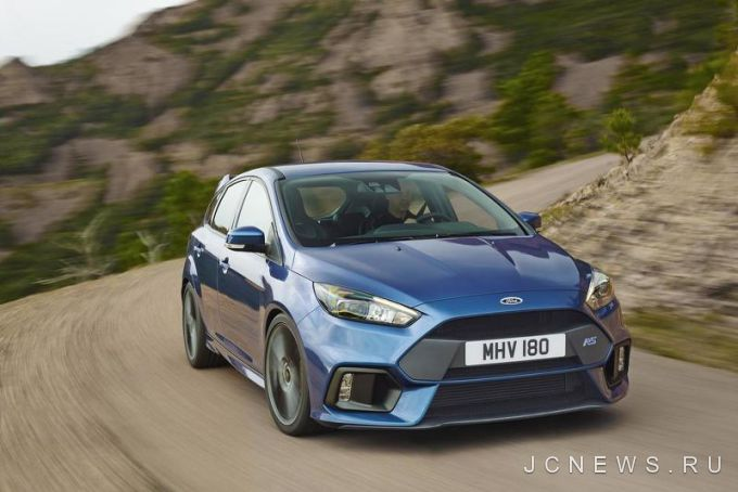 Первый Ford Focus RS сошел с конвейера